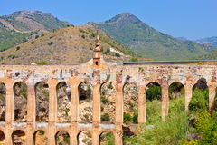 Old aqueduct Stock Photo