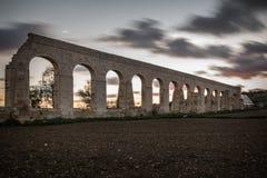 Old Aqueduct Gozo royalty free stock photos