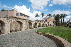 Old aqueduct water supply structure Nicosia Cyprus Royalty Free Stock Photo