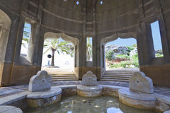 Old arab spa at Rhodes in Greece Stock Photo