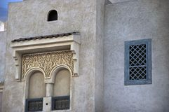 Old Arab Style windows Royalty Free Stock Photography