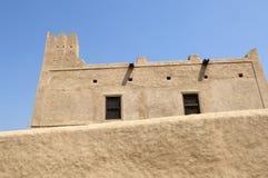 Old arabian castle in Fujairah royalty free stock image