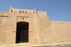 Old arabian castle in Fujairah Stock Images