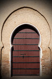 Old arabian door Stock Photo