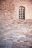 Old arabian window. On wall Royalty Free Stock Photo