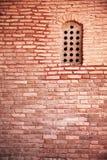Old arabian window. On wall Royalty Free Stock Photography