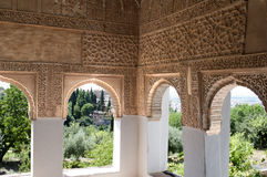 Old arabic castle Stock Photography