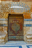 The old arabic door Royalty Free Stock Image
