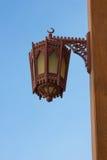 Old arabic streetlight Stock Photography