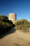 Old aragon tower. The old aragon tower in sardinia Royalty Free Stock Photos