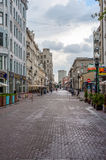 Old Arbat Street. The Old Arbat Street in downtown Moscow, Russia Royalty Free Stock Image