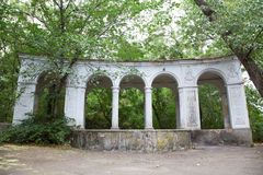 Old arc in green foliage Royalty Free Stock Photography