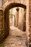 Old arch. Beautiful old arch in italy Stock Image