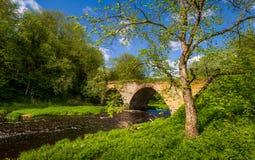Old arch bridge Stock Images