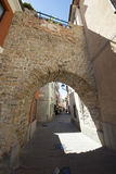 Old Arch in Muggia Stock Image