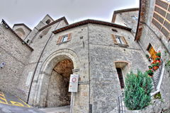 Old Arch On A Medieval Italian Village Stock Photos