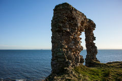 Old arch ruin Royalty Free Stock Image