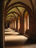 Old arched cloister Royalty Free Stock Photos