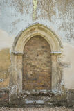 Old arched doorway Stock Photography
