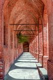Old arched passage. Stock Photos