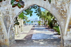 Old arches in Jaffa, Israel Royalty Free Stock Photography