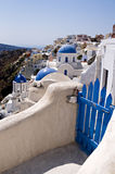 Old architechture. From Santorini, greece Stock Image