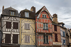 Old architecture of Auxerre Royalty Free Stock Photography