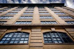 Old architecture in Baltimore, Maryland. Royalty Free Stock Photos