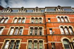 Old architecture in Baltimore, Maryland. Royalty Free Stock Image