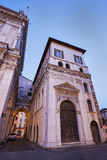 Old architecture of Brescia Royalty Free Stock Image