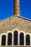 Old Architecture Building Chimney Stock Images