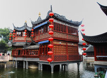 Old architecture of China. Traditional and beautiful the old architecture of China Royalty Free Stock Photography