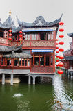 Old architecture of China. Traditional and beautiful the old architecture of China Royalty Free Stock Photo