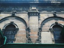 Old architecture of the city of Lviv.  royalty free stock photos