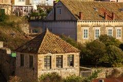 Old architecture of Dubrovnik. Croatia. Stock Photo