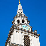 Old architecture in england london europe wall and history Royalty Free Stock Photo