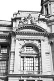 Old architecture in      england london europe wall and history Stock Images