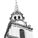 Old architecture in             england london europe wall and history Royalty Free Stock Photography