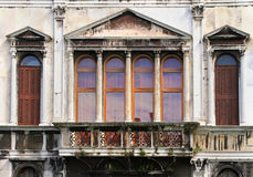 Old architecture facade Stock Images
