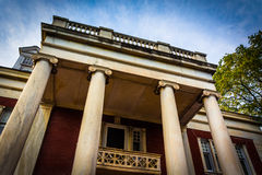 Old architecture in Hanover, Pennsylvania. Royalty Free Stock Photos