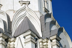 Old architecture of Kolomenskoye park. Ascension church Royalty Free Stock Photography