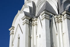 Old architecture of Kolomenskoye park. Ascension church Royalty Free Stock Photo