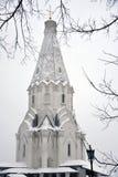 Old architecture of Kolomenskoye park. Ascension church stock photos