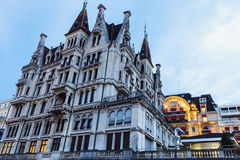 Old architecture of Lausanne Royalty Free Stock Photography