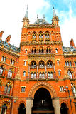 old architecture in london   brick exterior Royalty Free Stock Image