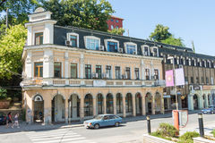 Old architecture in Lovech, Bulgaria royalty free stock photo