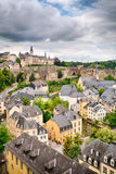 Old Architecture in Luxembourg City Stock Image