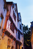 Old architecture of Nantes Stock Image