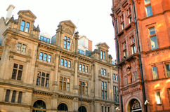 Old architecture in Nottingham, England.  Stock Photo