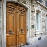 Old architecture in Paris Royalty Free Stock Photo